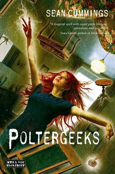 Behold the awesomeness of the GORGEOUS cover art for POLTERGEEKS!