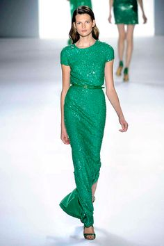 #need this emerald gown  green dresses #2dayslook #new style #greenstyle  www.2dayslook.com