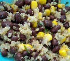 Delicious Family Recipes: Quinoa and Black Beans