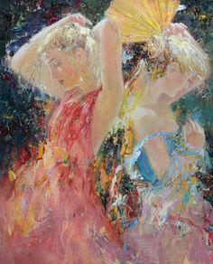 Mstislav Pavlov Russian Impressionist Painter