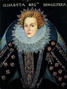 1592 Queen Elizabeth I 1533-1603 Unknown Artist