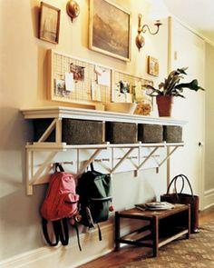 under kitchen window - Wicker Basket Storage