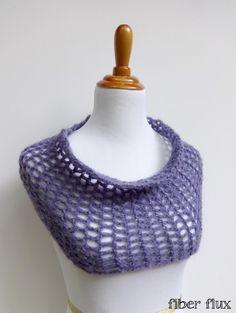 Free #Crochet Pattern...Catarina Cowl! @fiberflux