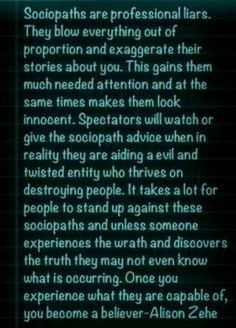 A Help for narcissistic sociopath victims and A Recovery from Narcissistic sociopath relationship.