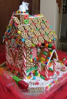Cookie house side