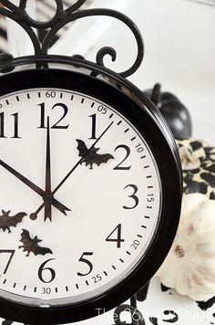 Halloween Clock idea...super cute!!