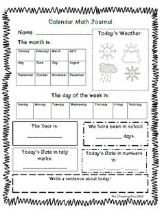 The 2 Teaching Divas have created another FREE resource for you!  It is a calendar math journal!  Incorporates a variety of Common Core standards, as well as, building life skills!  Hope you enjoy!