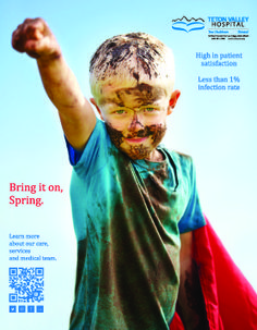 Bring it on, #Spring ! #superman #healthad #tetonvalley