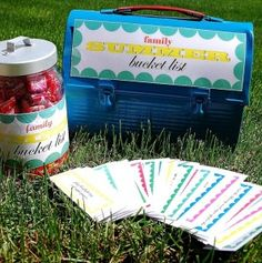 Free Summer Bucket List Printables