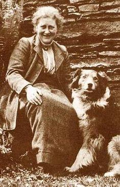 Beatrix Potter and Kep, 1915