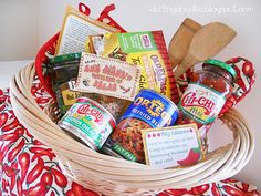Mexican Themed Basket