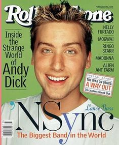 Lance Bass Rolling Stone Cover