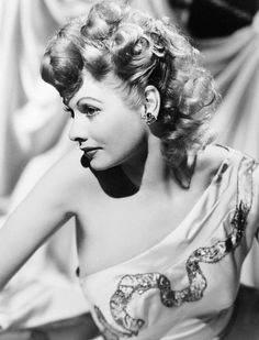 Lucille Ball, 1944. Gorgeous