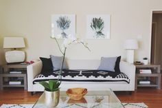 Candace's Bright and Beautiful California Home #pendleton