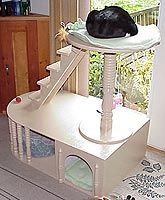 21 Free Cat Furniture Plans: Free Plans for Cat Trees, Condos, Scratching Posts and MORE