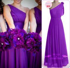 purple wedding dresses 2013 | Fabulous & Versatile: Purple Bridesmaid Dresses For Summer Weddings ...