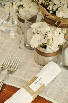 rustic party decorations