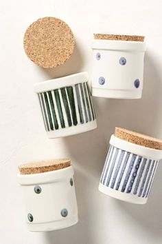 Cork-Capped Spice Jars | anthropologie