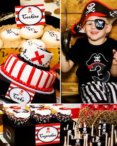 Pirate Birthday Party - Boy Pirate Party