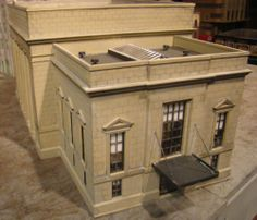 HO Scale Building Walthers Union Station Built Weathered | eBay