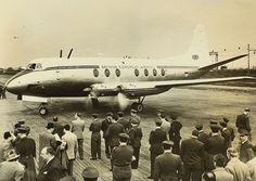 July 29, 1950: A British European Airways Vickers Viscount makes the first turboprop-powered passenger flight.