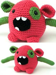 Classic Wool 'Bixi' Monster from  by Ella Rae at KnittingFever.com