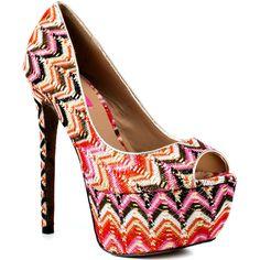 Betsey Johnson Barrdot - Pink Multi ($135) ❤ liked on Polyvore