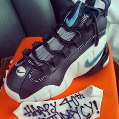 MY BDay Shoe Cake...Nike Air Max Penny