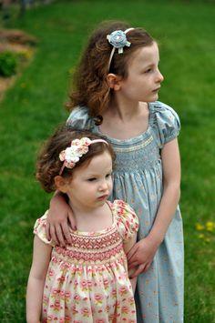 Cute sister dresses -