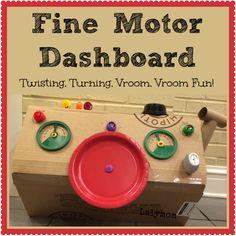 Fine Motor Activity Dashboard for Kids - LalyMom #OT #FineMotor #KBN