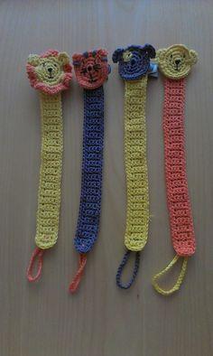 Porta-chupetes crochet