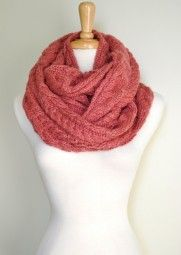 Enjoy this gorgeous and soft knitted infinity scarf all season long. $39.99 Use code PINIT at checkout for 10% off your entire order.