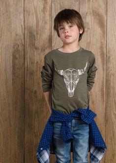 City Cowboy t-shirt #MANGOKids #FW14 #Kids