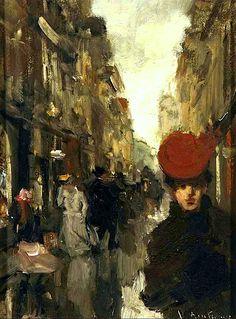Strolling in the Spuistraat, The Hague Floris Arntzenius