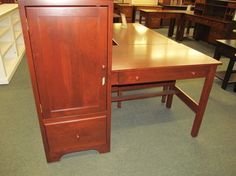 Clark Computer Desk - eclectic - desks - columbus - Geitgey's Amish Country Furnishings