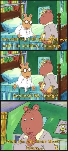 I feel you, Arthur.