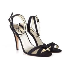 Gigi Black Strappy V