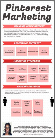 Pinterest Marketing #infografia #infographic #marketing #socialmedia