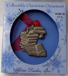 Gloria Duchin Happy Holidays Collectible Christmas Ornament New $11.99