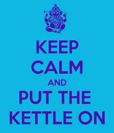 KEEP CALM AND PUT THE  KETTLE ON  Join us for an in-depth discussion of 'Uncertainty is the New Normal' on KeystoClarity! Radio on Oct 5th. http://budurl.com/uncertaintynormal