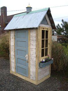 Cute gardening shed from Bob Bowling Rustics