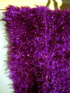 Crochet Motown Mauve Colour Disco Scarf $20.00
