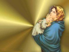 Beautiful Jesus Backgrounds | ... Mary, Christ, christianity, God, Jesus, mother, religion, Virgin Mary