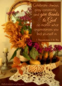 Giving Thanks with a Grateful Heart :: Printable :: JoyDay! :: AnExtraordinaryDay.net
