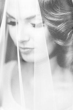 Bride & veil via style me pretty blog