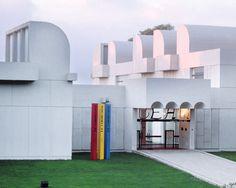 The Fundació Joan Miró.