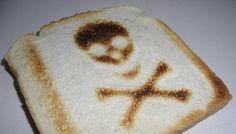 Toast Skull #inked #inkedmag #oddities #skull #toast #food