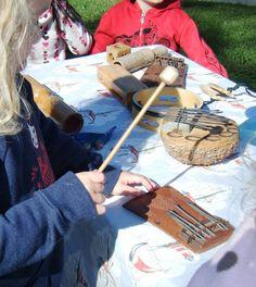 outdoor music play at preschool