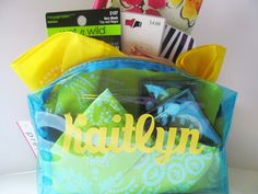 Pretty and Personal Birthday Bundle..gift idea for a teen girl. Lots of other Silhouette projects.