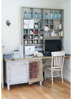 Love Everything, this is how I want my loft/office to look! swoon...